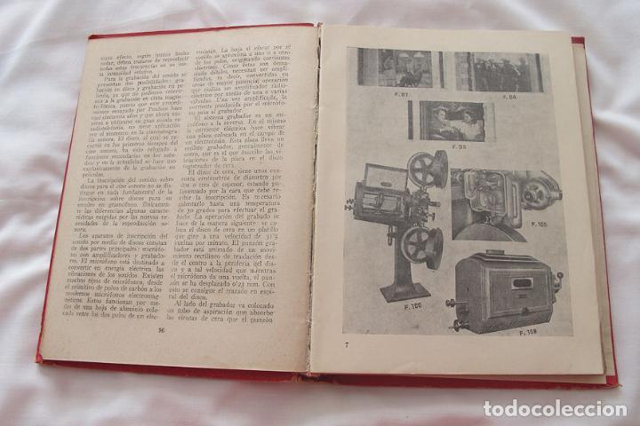 Libros de segunda mano: MANUAL DEL OPERADOR CINEMATROGRAFICO 1948 1ª EDICIÓN BRUGUERA - Foto 5 - 183691396