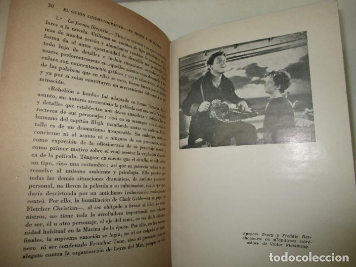 Libros de segunda mano: EL GUIÓN CINEMATOGRÁFICO, SU TEORÍA Y SU TÉCNICA. GÓMEZ, Enrique. 1944. - Foto 3 - 183822632