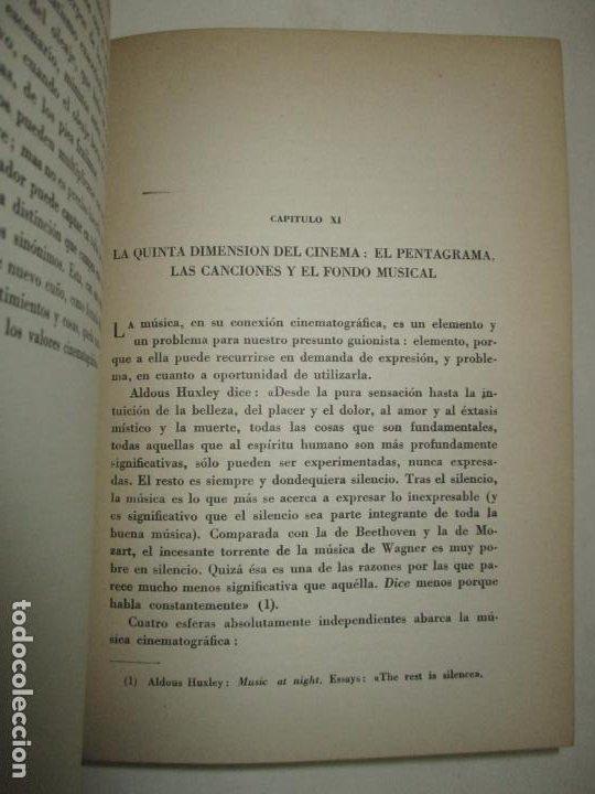 Libros de segunda mano: EL GUIÓN CINEMATOGRÁFICO, SU TEORÍA Y SU TÉCNICA. GÓMEZ, Enrique. 1944. - Foto 4 - 183822632