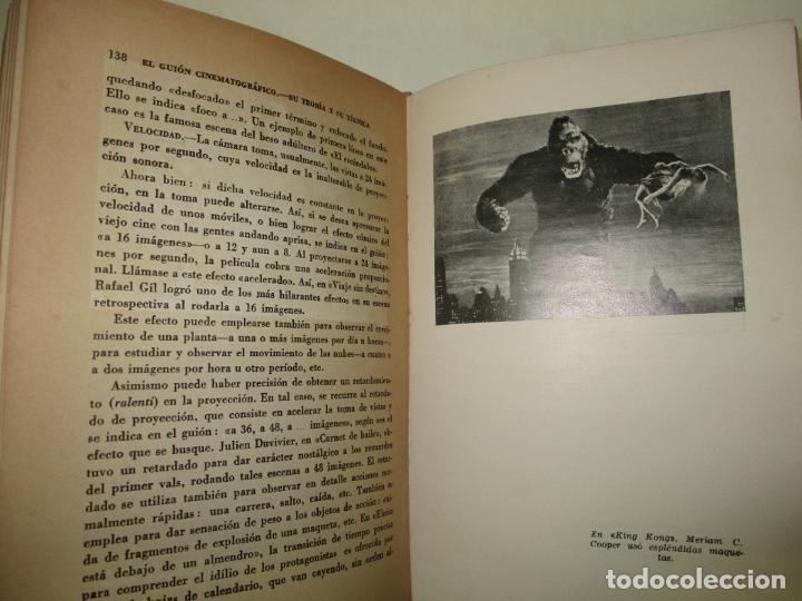 Libros de segunda mano: EL GUIÓN CINEMATOGRÁFICO, SU TEORÍA Y SU TÉCNICA. GÓMEZ, Enrique. 1944. - Foto 5 - 183822632