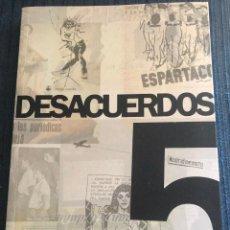 Libros de segunda mano: 'DESACUERDOS 5'. LIBRO SOBRE CINE DE AUTOR Y EXPERIMENTAL. NUEVO.. Lote 183849515