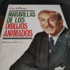 Libros de segunda mano: MARAVILLAS DE LOS DIBUJOS ANIMADOS. Lote 184193907