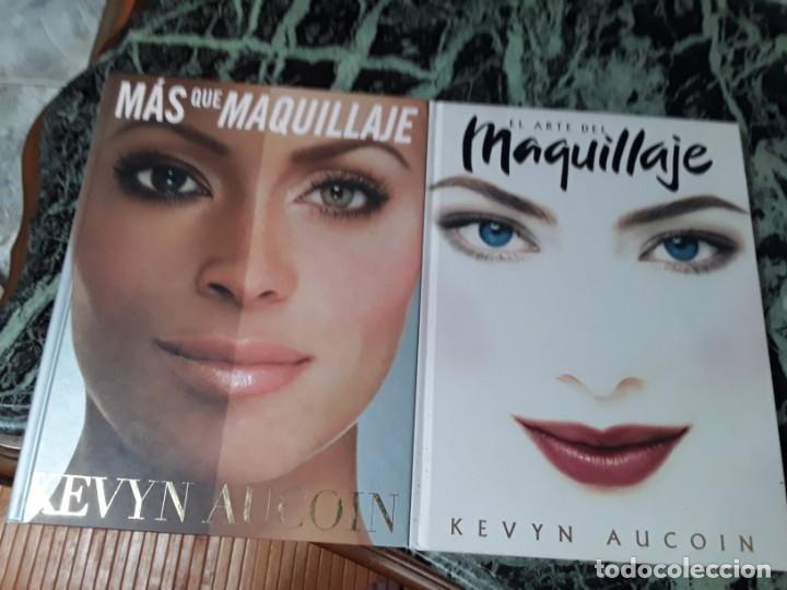 LOTE MAS QUE MAQUILLAJE/EL ARTE DEL MAQUILLAJE, DE KEVYN AUCOIN. (Libros de Segunda Mano - Bellas artes, ocio y coleccionismo - Cine)