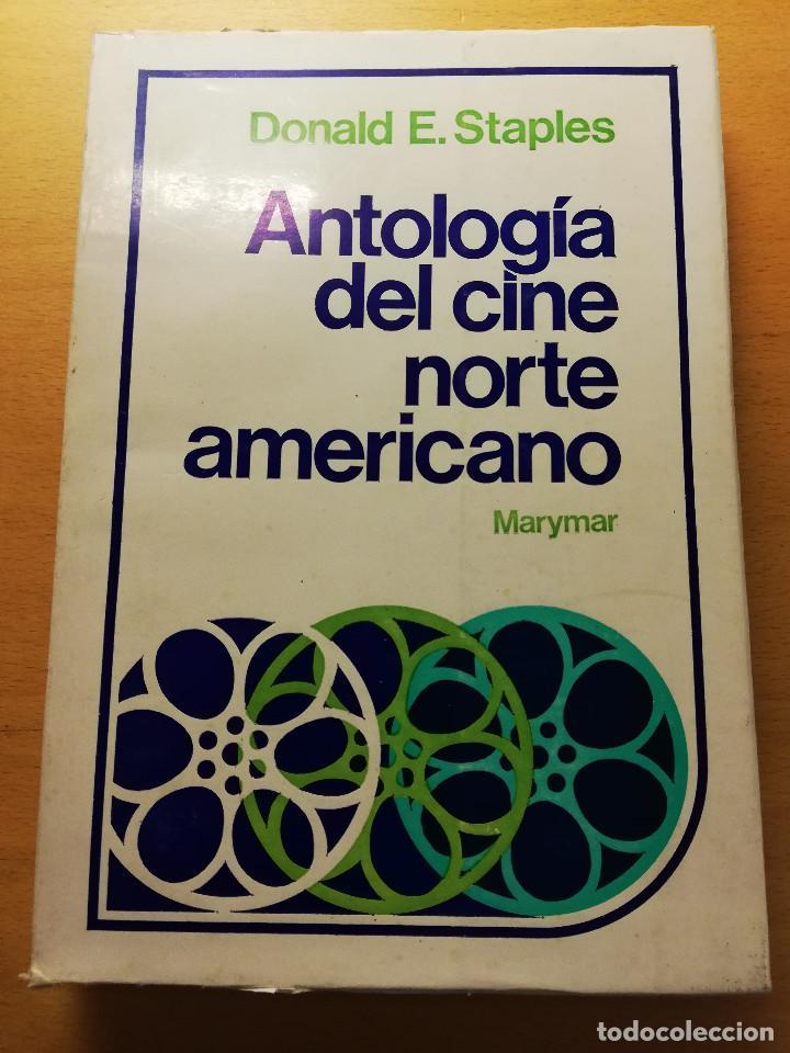 ANTOLOGÍA DEL CINE NORTEAMERICANO (DONALD E. STAPLES) EDICIONES MARYMAR (Libros de Segunda Mano - Bellas artes, ocio y coleccionismo - Cine)