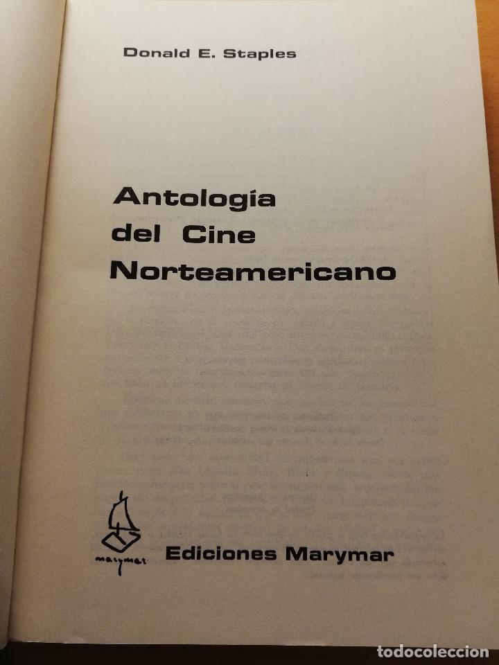 Libros de segunda mano: ANTOLOGÍA DEL CINE NORTEAMERICANO (DONALD E. STAPLES) EDICIONES MARYMAR - Foto 2 - 185924166