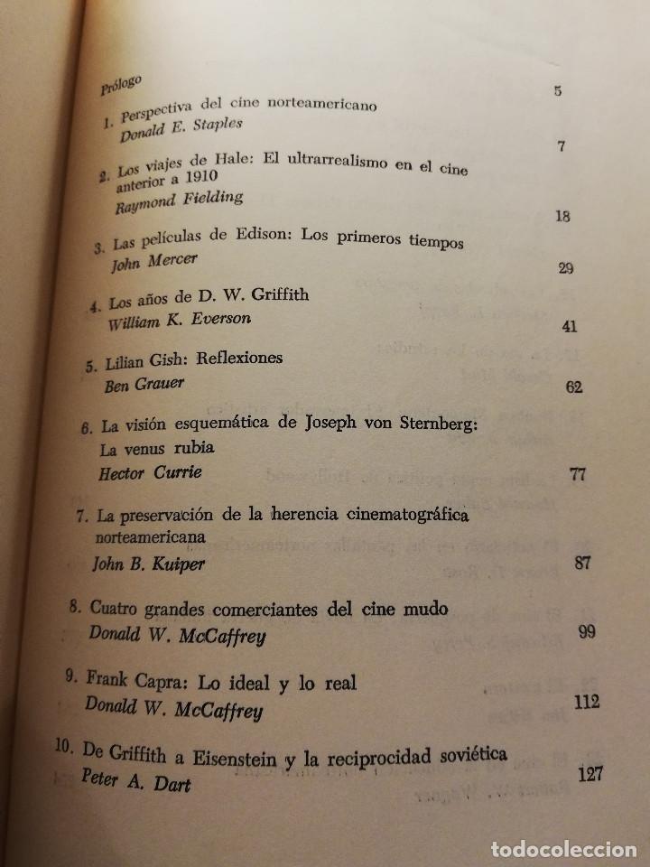 Libros de segunda mano: ANTOLOGÍA DEL CINE NORTEAMERICANO (DONALD E. STAPLES) EDICIONES MARYMAR - Foto 3 - 185924166
