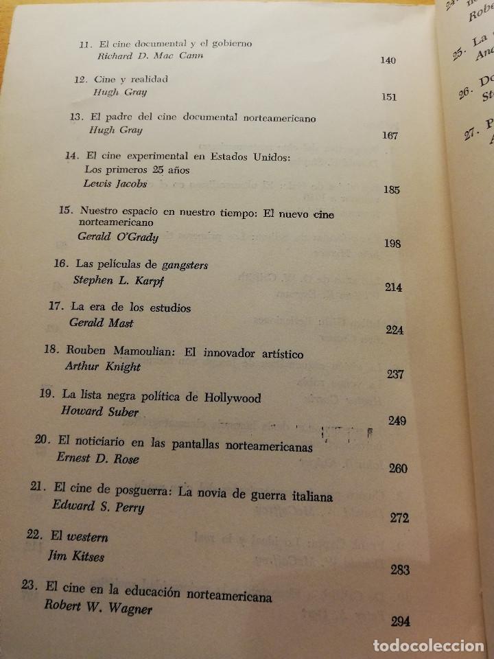 Libros de segunda mano: ANTOLOGÍA DEL CINE NORTEAMERICANO (DONALD E. STAPLES) EDICIONES MARYMAR - Foto 4 - 185924166