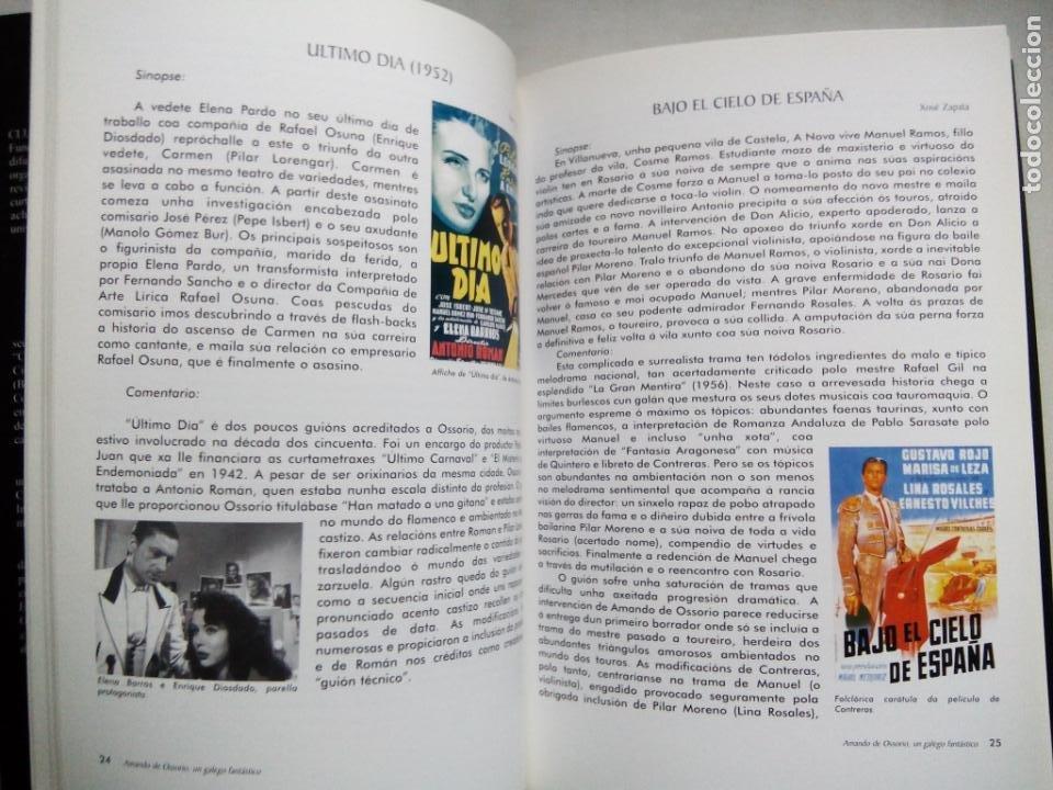 Libros de segunda mano: AMANDO DE OSSORIO, UN GALEGO FANTÁSTICO. IGNACIO BENEDETI. RAFAEL CALVO. XOSÉ ZAPATA. ESPAÑA 1999. - Foto 5 - 186103292