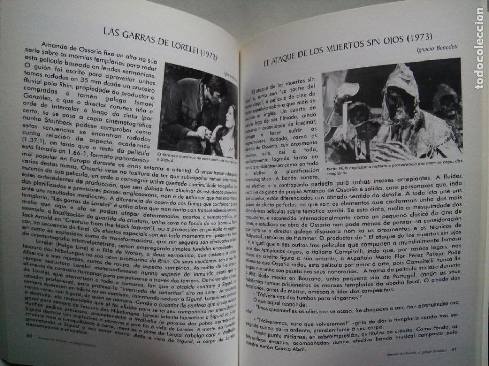 Libros de segunda mano: AMANDO DE OSSORIO, UN GALEGO FANTÁSTICO. IGNACIO BENEDETI. RAFAEL CALVO. XOSÉ ZAPATA. ESPAÑA 1999. - Foto 6 - 186103292
