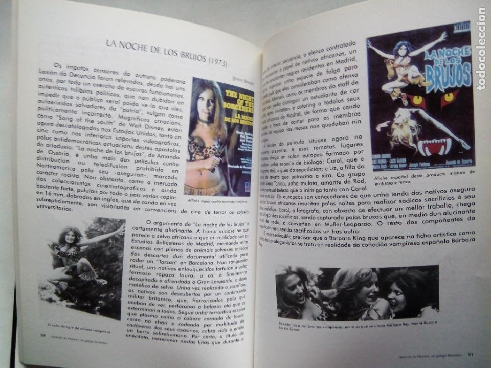 Libros de segunda mano: AMANDO DE OSSORIO, UN GALEGO FANTÁSTICO. IGNACIO BENEDETI. RAFAEL CALVO. XOSÉ ZAPATA. ESPAÑA 1999. - Foto 7 - 186103292