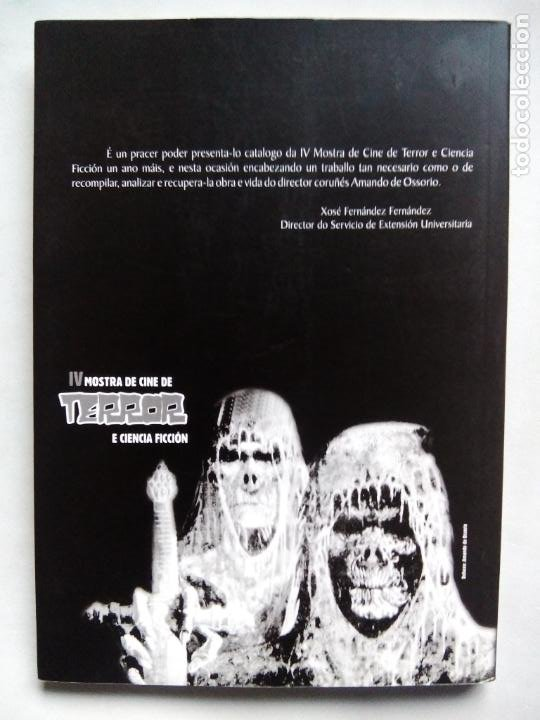 Libros de segunda mano: AMANDO DE OSSORIO, UN GALEGO FANTÁSTICO. IGNACIO BENEDETI. RAFAEL CALVO. XOSÉ ZAPATA. ESPAÑA 1999. - Foto 9 - 186103292