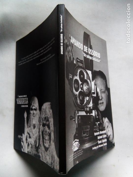 Libros de segunda mano: AMANDO DE OSSORIO, UN GALEGO FANTÁSTICO. IGNACIO BENEDETI. RAFAEL CALVO. XOSÉ ZAPATA. ESPAÑA 1999. - Foto 10 - 186103292