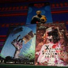 Libros de segunda mano: PROGRAMA X XI SEMANA DE CINE FANTÁSTICO Y DE TERROR SAN SEBASTIÁN 1999 2000, IMAGFIC 93 XIV MADRID.. Lote 186153131