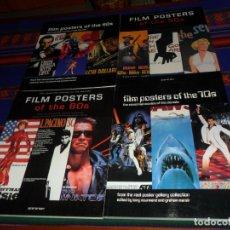 Libros de segunda mano: THE ESSENTIAL MOVIES OF THE DECADE FILM POSTERS OF THE 50S 60S 70S 80S. MUY BUEN ESTADO. RAROS.. Lote 186159306