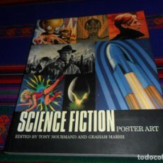 Libros de segunda mano: NUEVO, SCIENCE FICTION POSTER ART. AURUM PRESS 2003. STAR WARS. RÚSTICA. 192 PGNS. RARO.. Lote 186160798