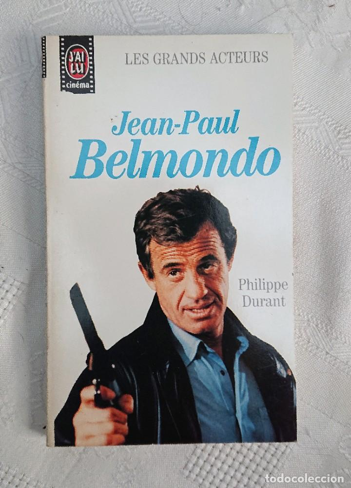 JEAN-PAUL BELMONDO · PHILIPPE DURANT · LES GRANDS ACTEURS · ÉDITIONS J'AI LU, 1990 (Libros de Segunda Mano - Bellas artes, ocio y coleccionismo - Cine)