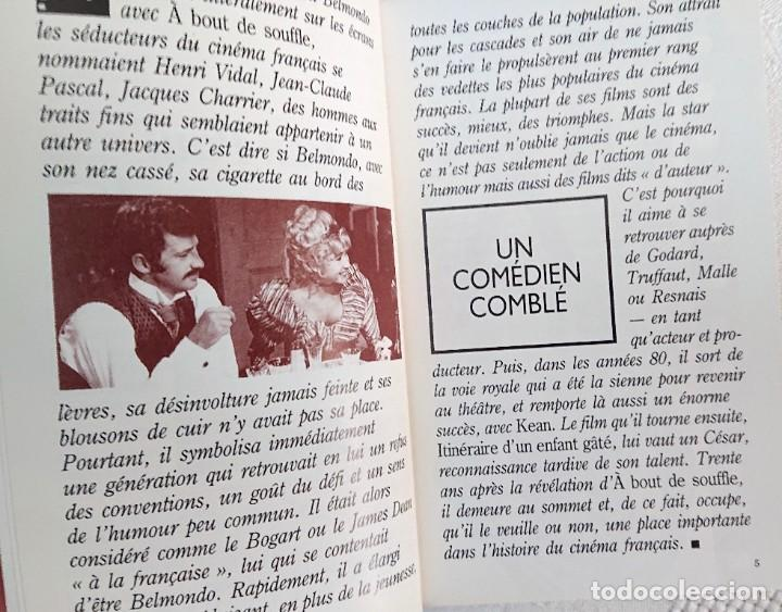 Libros de segunda mano: JEAN-PAUL BELMONDO · Philippe Durant · Les grands Acteurs · Éditions Jai lu, 1990 - Foto 4 - 186634302
