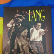 Libros de segunda mano: FRITZ LANG DE BERNARD EISEBCHITZ FILMOTECA VALENCIANA. Lote 187377196
