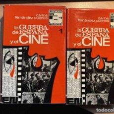 Libros de segunda mano: LA GUERRA DE ESPAÑA Y EL CINE (2 TOMOS) FERNÁNDEZ CUENCA. Lote 187577216