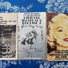 Libros de segunda mano: HISTORIA ILUSTRADA DEL CINEE (3 TOMOS). Lote 188463846