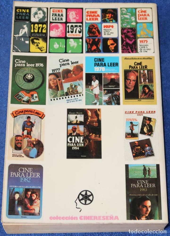 Libros de segunda mano: Cine para leer 1984 - Editorial Mensajero (1985) - Foto 3 - 189374242