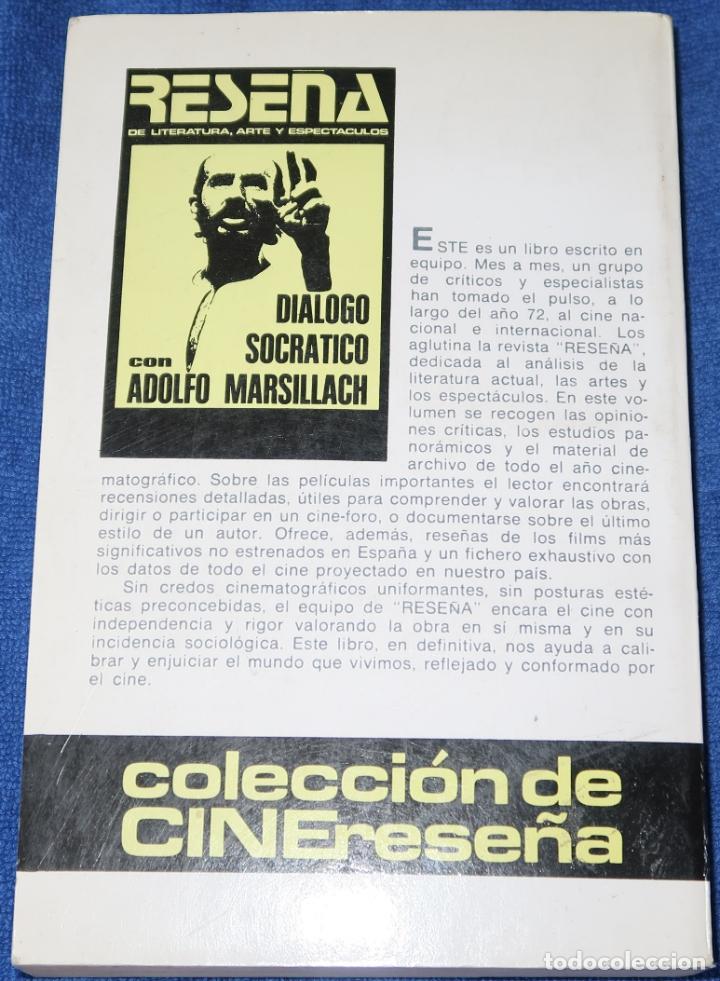 Libros de segunda mano: CINE PARA LEER 1972 - EDITORIAL MENSAJERO (1973) - Foto 2 - 189654795