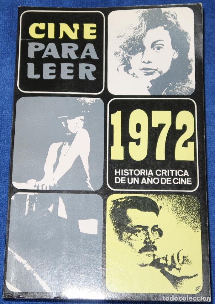 CINE PARA LEER 1972 - EDITORIAL MENSAJERO (1973) (Libros de Segunda Mano - Bellas artes, ocio y coleccionismo - Cine)