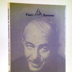 Libros de segunda mano: BEN HECHT, EL GUIONISTA MÁS FUERTE E INDEPENDIENTE DE HOLLYWOOD (JUAN JULIO DE ABAJO DE PABLOS). Lote 189697092
