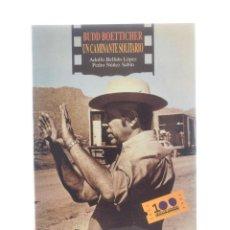 Libros de segunda mano: BUDD BOETTICHER, UN CAMINANTE SOLITARIO - BELLIDO LÓPEZ, ADOLFO / NÚÑEZ SABÍN, PEDRO. Lote 189943265