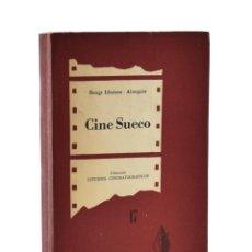 Libros de segunda mano: CINE SUECO (DRAMA Y RENACIMIENTO) - IDESTAM - ALMQUIST, BENG. Lote 189943280