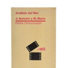 Libros de segunda mano: ANÁLISIS DEL FILM - AUMONT, JACQUES / MARIE, MICHEL. Lote 189943296