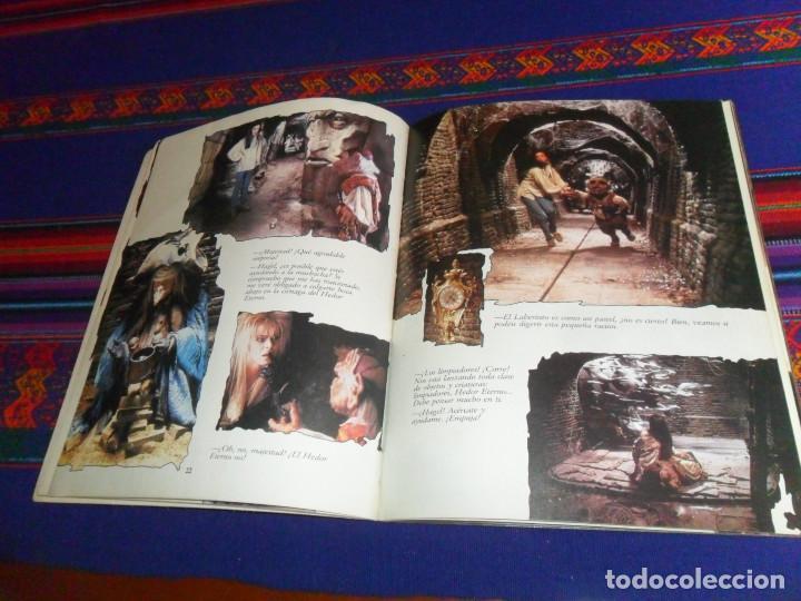 Libros de segunda mano: LABERINTO BASADO EN EL FILM DE JIM HENSON CON DAVID BOWIE. 1986 TIMUN MAS DÍSTEIN LIBROS. RARO. - Foto 4 - 190141745