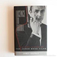 Libros de segunda mano: 007 - THE JAMES BOND FILMS - LICENCE TO THRILL. Lote 166991596