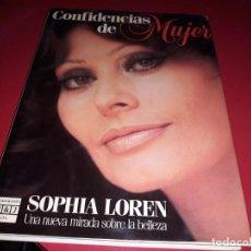 Libros de segunda mano: CONFIDENCIAS DE MUJER DE SOPHIA LOREN . PLAZA & JANES 1985.. Lote 191291350