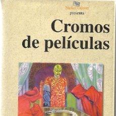 Libros de segunda mano: CROMOS DE PELÍCULAS. DE JUAN JOSÉ PLANS. Lote 191341008