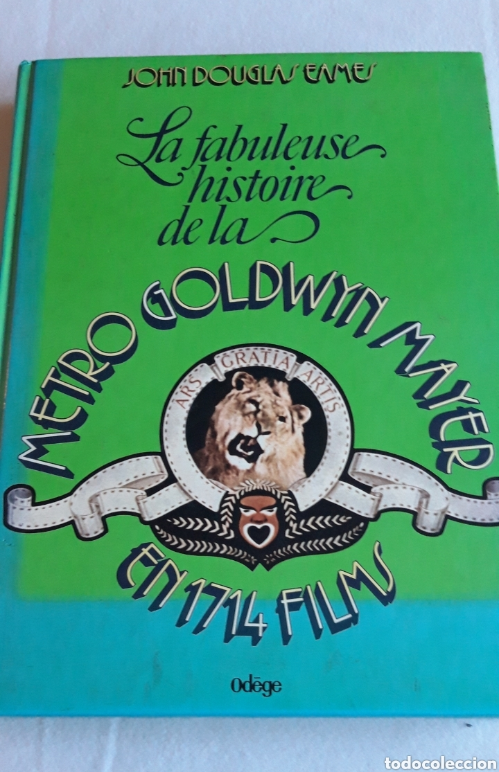 LA FABULOSA HISTORIA DE LA.METRO GOLDEN MAYER CINE LEÓN (Libros de Segunda Mano - Bellas artes, ocio y coleccionismo - Cine)
