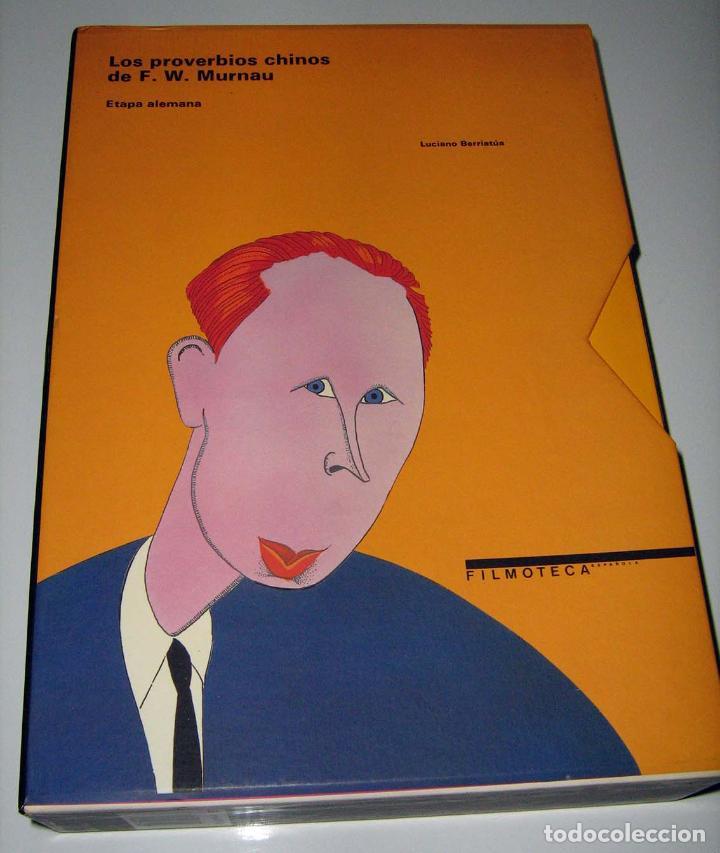 LOS PROVERBIOS CHINOS DE F. W. MURNAU - LUCIANO BERRIATÚA - DOS VOLÚMENES EN ESTUCHE (Libros de Segunda Mano - Bellas artes, ocio y coleccionismo - Cine)