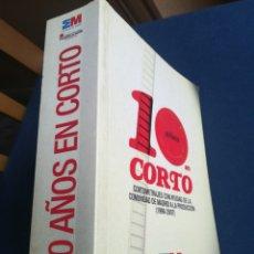 Libros de segunda mano: 10 AÑOS EN CORTO CORTOMETRAJES CON AYUDAS DE LA COMUNIDAD DE MADRID A LA PRODUCCIÓN 1998-2007. Lote 191897053