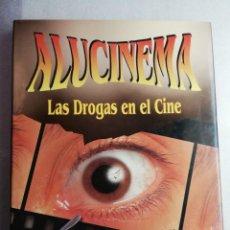 Libros de segunda mano: ALUCINEMA. LAS DROGAS EN EL CINE - PEDRO URIS. Lote 192744292