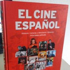 Libros de segunda mano: EL CINE ESPAÑOL HISTORIA ACTORES Y DIRECTORES GÉNEROS PRINCIPALES PELÍCULAS. Lote 193221396