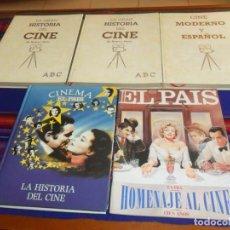 Libros de segunda mano: CINEMA EL PAÍS, SEMANAL 214 HOMENAJE AL CINE, ABC GRAN HISTORIA DEL CINE COMPLETA Y MODERNO ESPAÑOL.. Lote 193301236