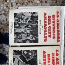 Libros de segunda mano: LA AZAROSA HISTORIA DEL CINE AMERICANO (2 TOMOS). Lote 193735233