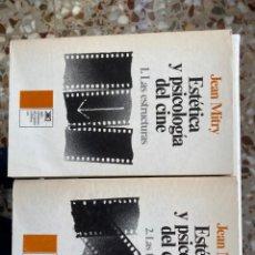 Libros de segunda mano: ESTÉTICA Y PSICOLOGÍA DEL CINE (2 TOMOS). Lote 193737245