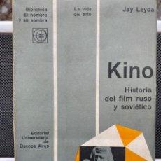 Libros de segunda mano: KINO HISTORIA DEL FILM RUSO Y SOVIÉTICO. Lote 193739730