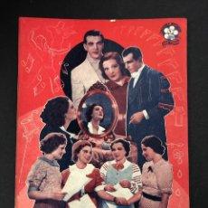 Libros de segunda mano: CUANDO ME SIENTO FELIZ, NOCHE DE ESTRENO, LAS CUATRO REVOLTOSAS - SERIE TREBOL Nº 2 AÑO 1940. Lote 193960140