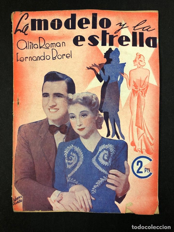 LA MODELO Y LA ESTRELLA - ALITA ROMAN Y FERNANDO BOREL (Libros de Segunda Mano - Bellas artes, ocio y coleccionismo - Cine)