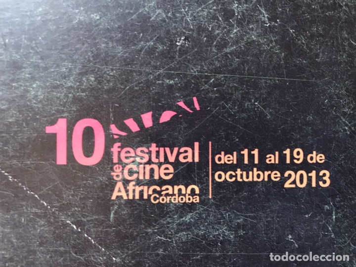 Libros de segunda mano: 10 Festival Cine Africano. Córdoba. 2013 - Foto 2 - 194171815