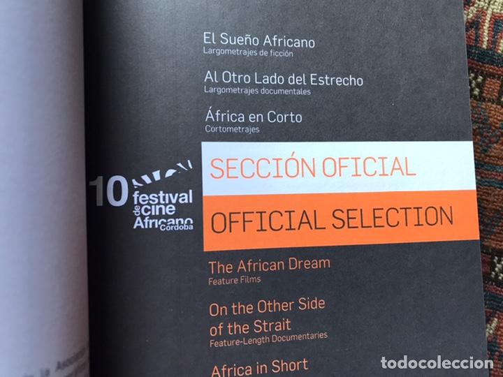 Libros de segunda mano: 10 Festival Cine Africano. Córdoba. 2013 - Foto 3 - 194171815
