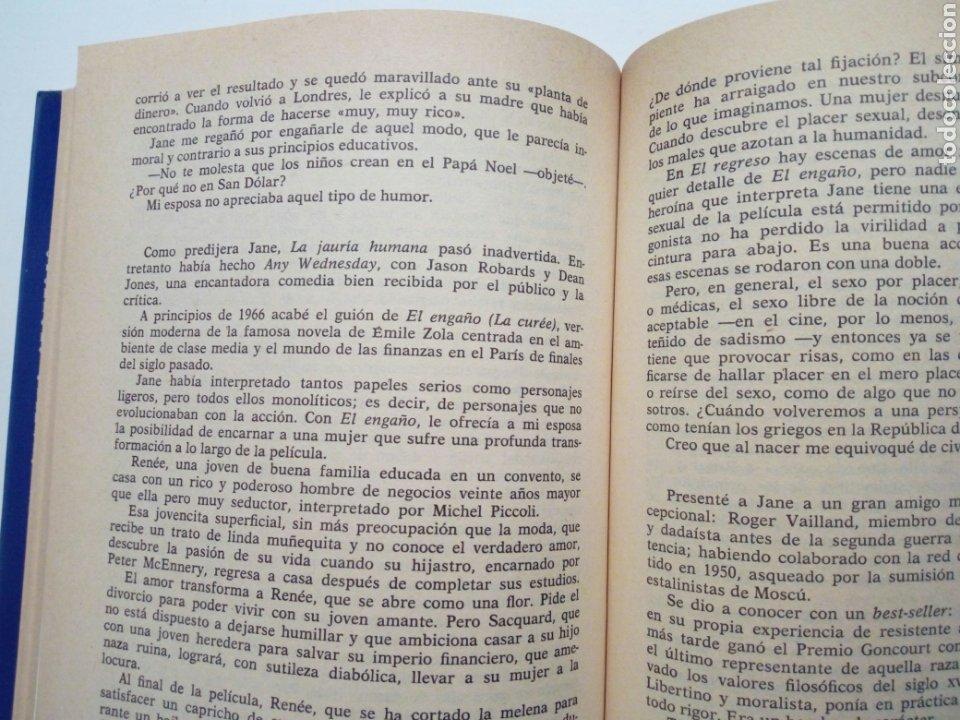 Libros de segunda mano: MEMORIAS DE ROGER VADIM (Bardot, Deneuve, Fonda) (Planeta, 1986) - Foto 7 - 194184473