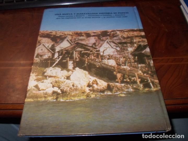 Libros de segunda mano: Popeye el libro de la película. Diafora 1ª ed. diciembre 1.981, interior con varios escritos a bolig - Foto 2 - 194229056
